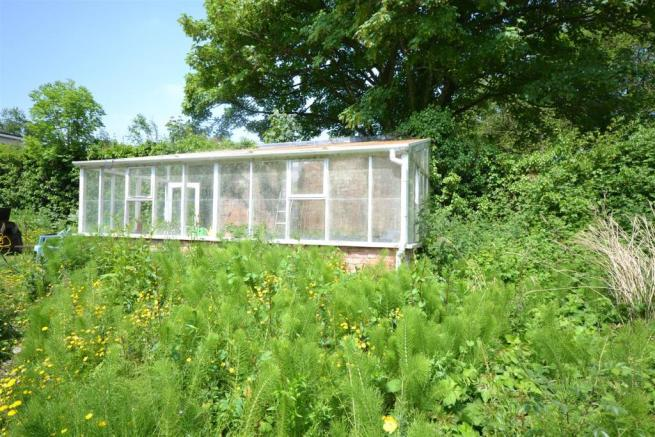 Greenhouse in Walled Garden