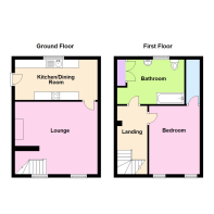 Cottage 2B- Property Floorplan