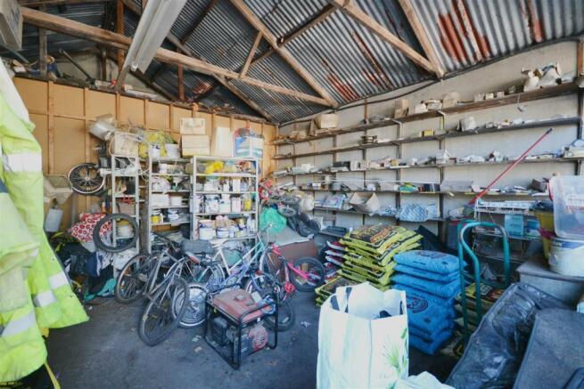 Former Shop and Garage