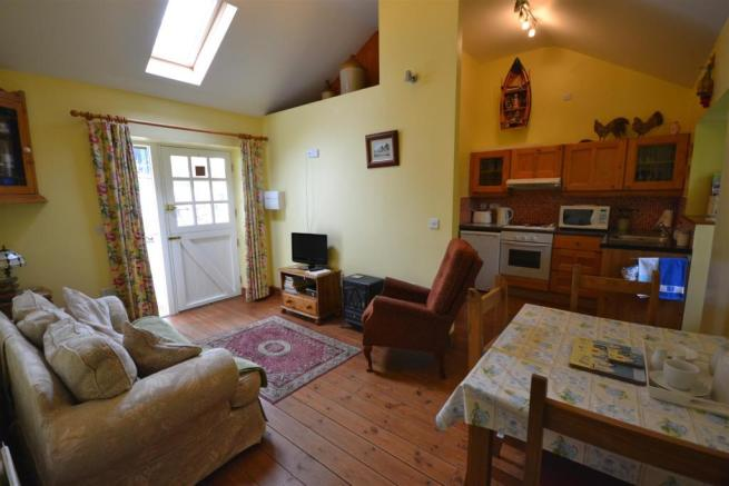 Crofters Living area