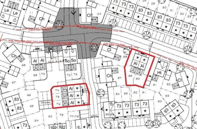 Coton Park site plan
