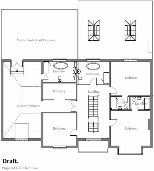 Draft First Floor Plan