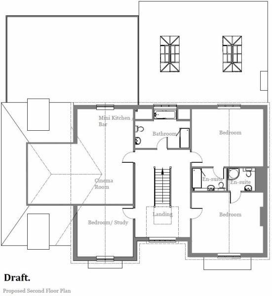 Draft Second Floor Plan