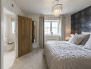 Master bedrooom with dressing area and en-suite