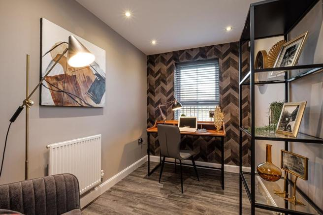 Inside view of our 5 bed Alnmouth Study
