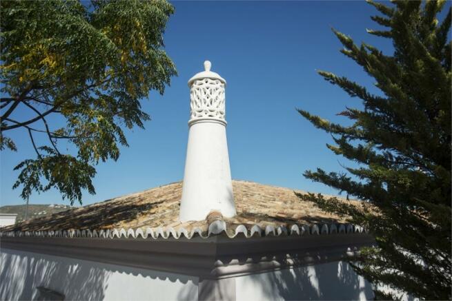 Typical Algarve chimney