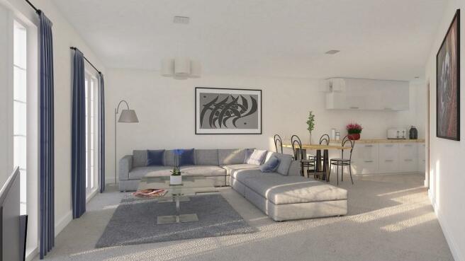 2 bedroom penthouse for sale in Bonds Lane, Biggleswade