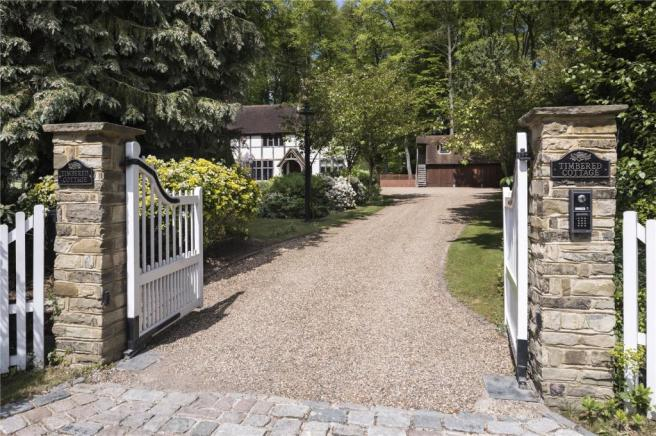 Gated Entrance Drive