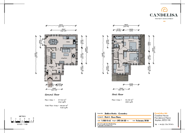 Floor Plan Plot 4