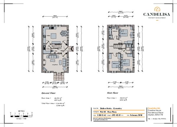 Floor Plan Plot 42