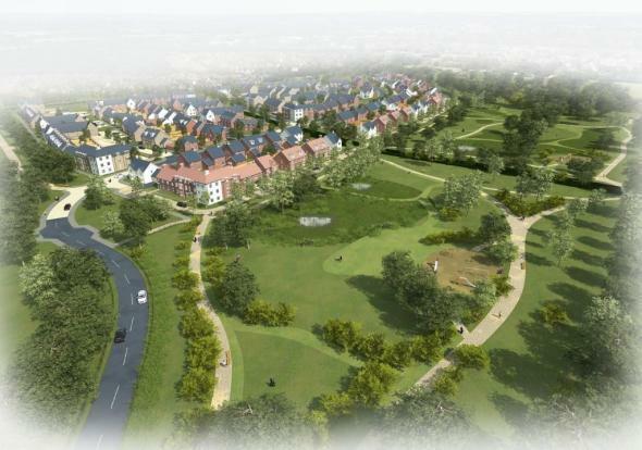 Open Green Parkland