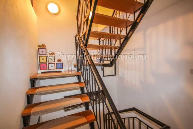 Staircase to Third Bedroom