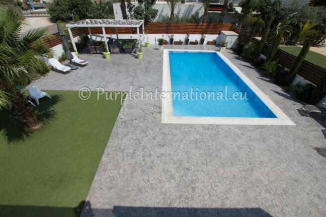 view from private veranda