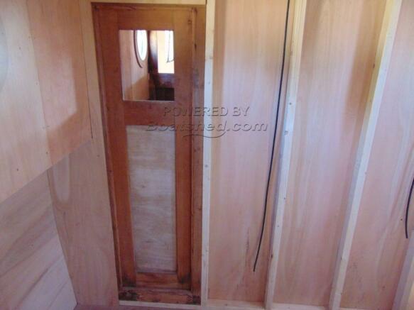 Bedroom Stud Wall and Access to Bathroom