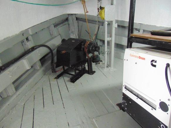 Generator Room and Windlass
