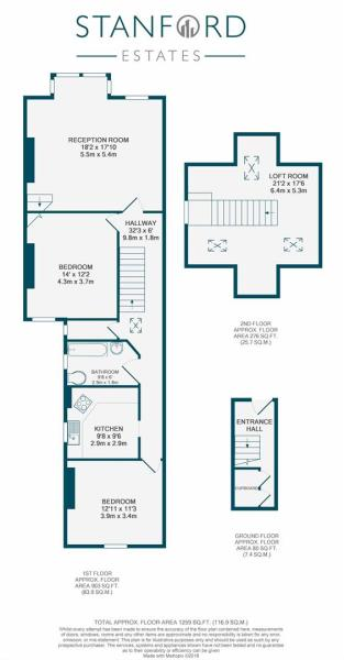 Woolstone Road SE23 - Floorplan.JPG