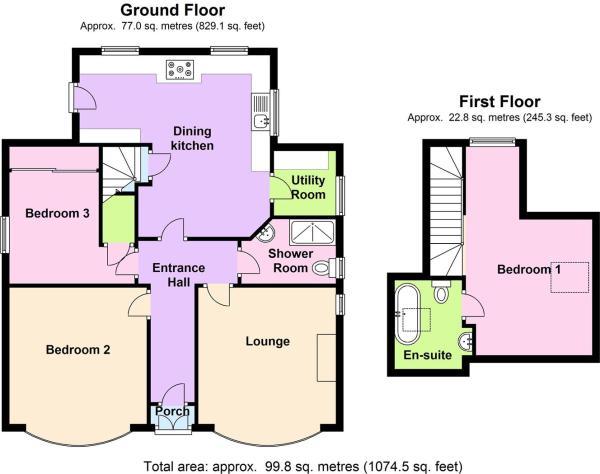 Main Dwelling Floor Plan