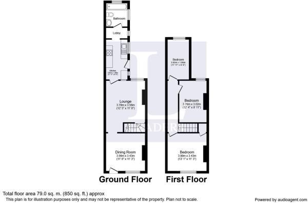 Floor plan - 61 Ratcliffe Road