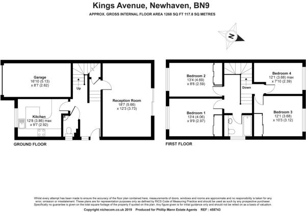 4 bedroom semi-detached house for sale in Kings Avenue, Newhaven, BN9