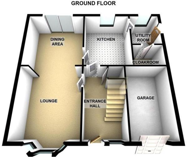81 Inchbrakie Drive Crieff PH7 3SS - Ground Floor