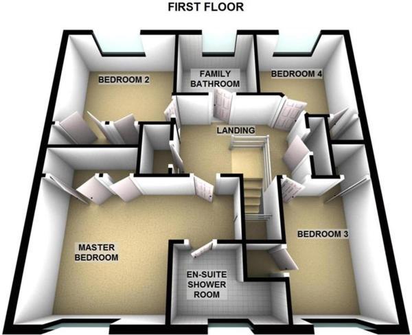 81 Inchbrakie Drive Crieff PH7 3SS - First Floor -