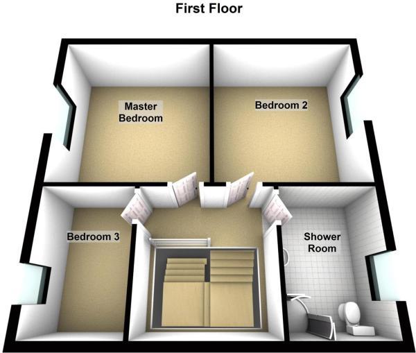 Flat 1, 30 allan street - Floor 1.JPG