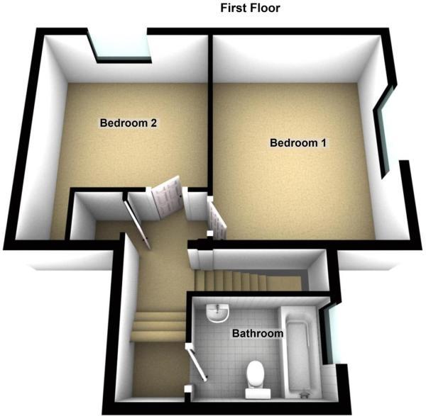 Flat 4, Croftweit, Strathearn Terrace, Crieff - Fl