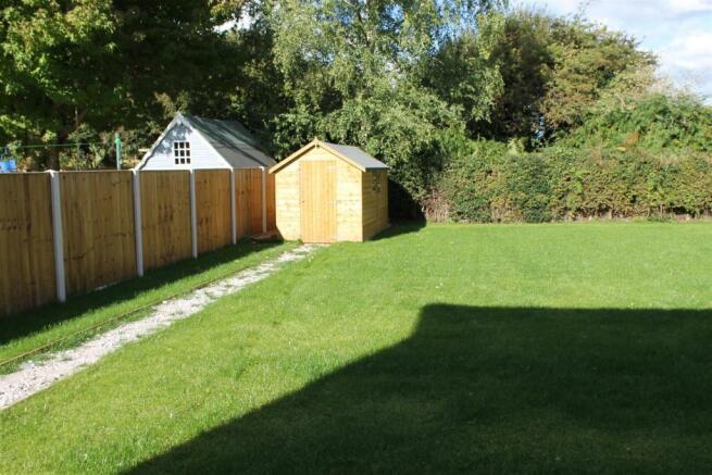 Plot 1 garden