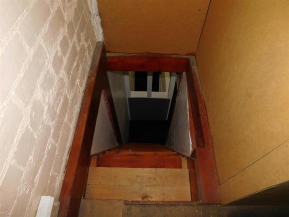 Stairs Leading To Attic