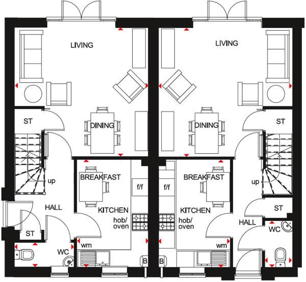GF floor plan folkstone