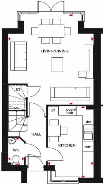 Hythe Floor plan GF