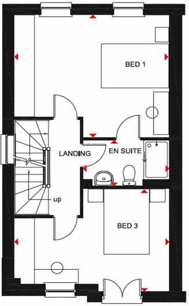 Hythe Floor plan FF