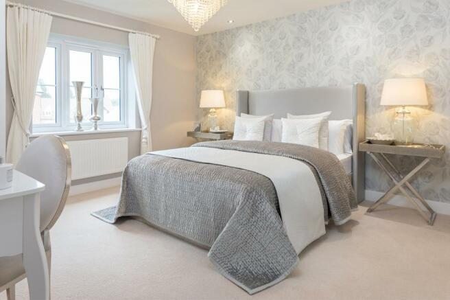 Holden master bedroom with en suite