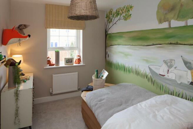 Single fourth bedroom