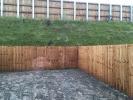 garden to be turfed