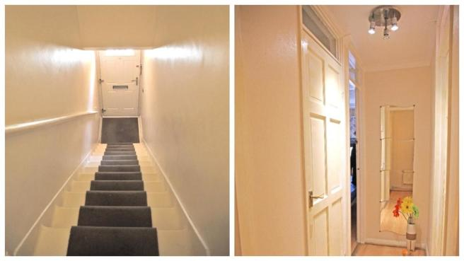 Staircase/Hallway
