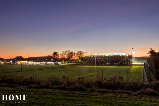 Tennis club twilight