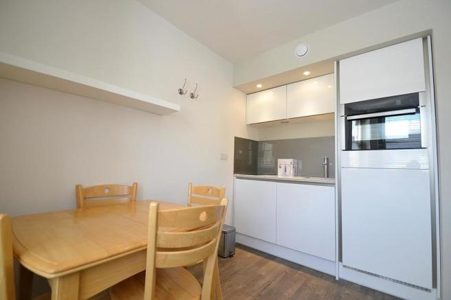 Open plan living kitchen and Study area