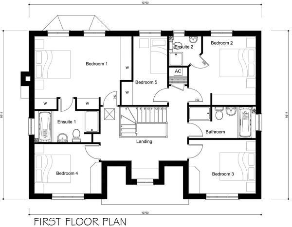 4583-PD12-03A Plot 12 Housetype First floor plan.j