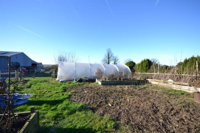 POLY TUNNEL AND GARDEN