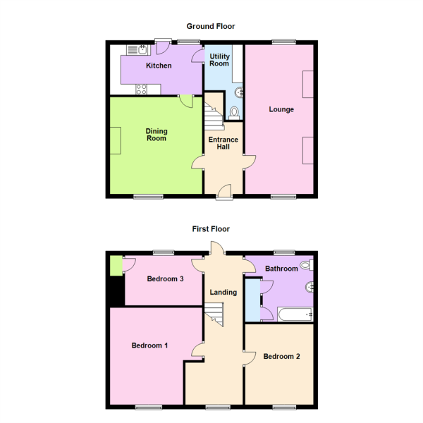Cottage 2A- Property Floorplan