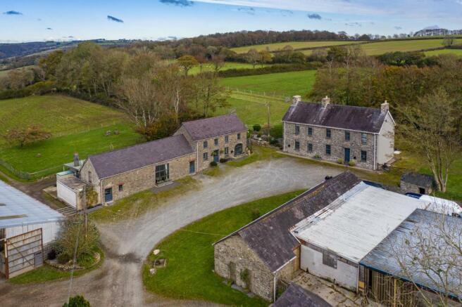 Aerial view of Properties