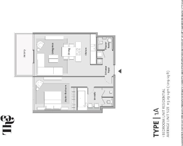 Actual floor plan fo