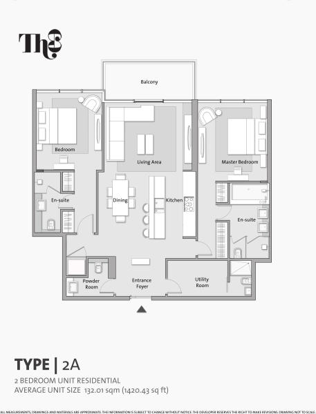 The 8 floor plan