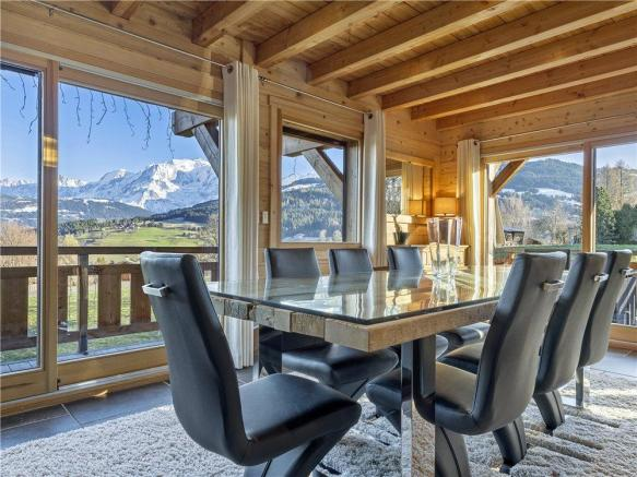 Megeve Dining Room