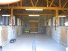 Internal of stables