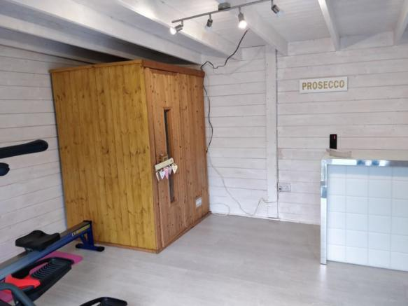 space for sauna