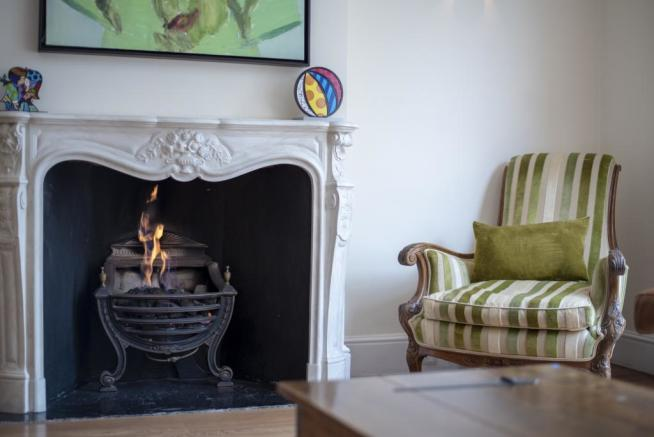Chimney living room