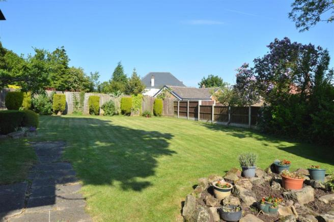 Large Private Rear Garden