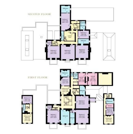 Main Hse 1/2 Floors